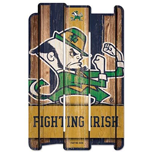 WinCraft NCAA Notre Dame Fighting Irish Sports Fan Home Decor, Team Color, 11x17