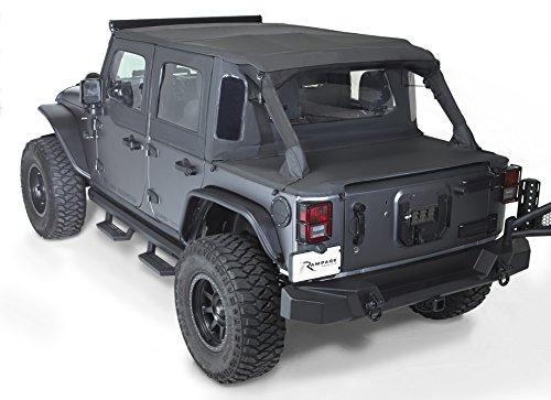 Rampage Products | 990135 | TrailView Tonneau Top | fits '07-'18 Jeep JKU 4dr