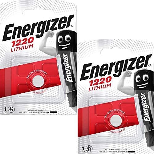 Energizer CR1220 Lithium-Batterien, 3 V, 2 Stück