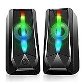 16W Casse PC Imdwimd Altoparlante USB Stereo Speakers