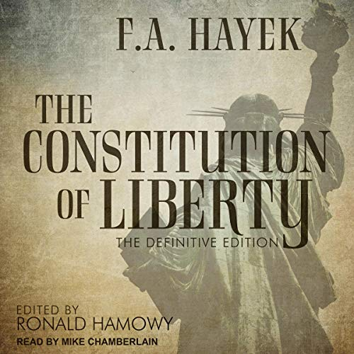 The Constitution of Liberty audiobook cover art