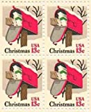 Mailbox Christmas Set of 4 x 13 Cent US Postage Stamps NEW Scot 1730
