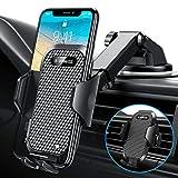 VANMASS Handyhalterung Auto 3 in 1 Lüftung & Saugnapf Handyhalter Fürs Auto 100% Silikonschutz Universale Kfz Handyhalterung 360°Drehbar Flexibel Für Alle Handys & Alle Autos iPhone Samsung Huawei LG