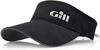 Gill Regatta Visor Black - Lightweight Breathable UV Sun Protection and SPF Properties - Unisex