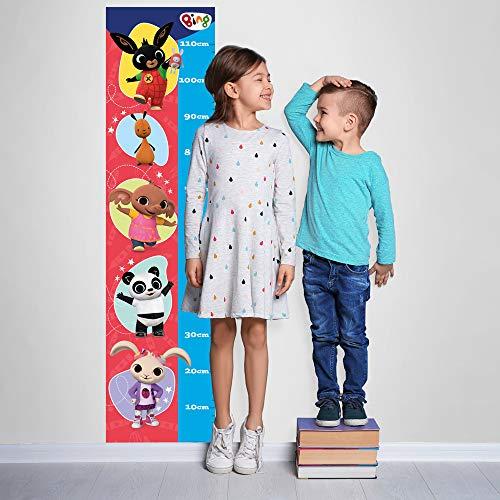 B_UV0003 - Adhesivos murales efecto tela Bing Cartoon Flop Amma Pando Padget sobre la decoración de la pared del dormitorio de los niños