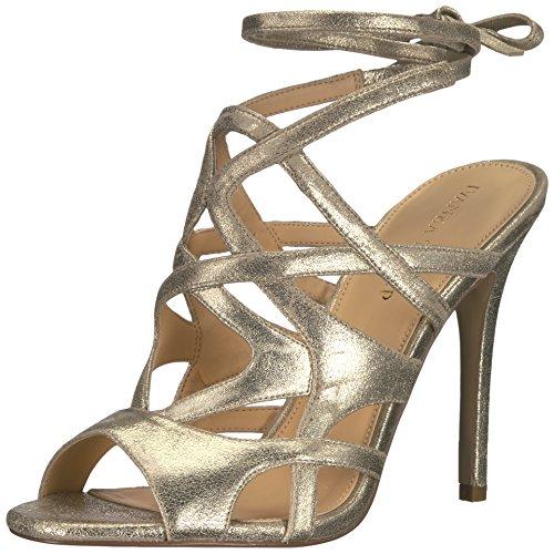 Ivanka Trump Women's Hesther Dress Sandal, Gold, 9.5 M US