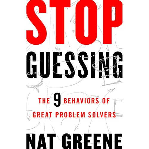 Stop Guessing audiobook cover art
