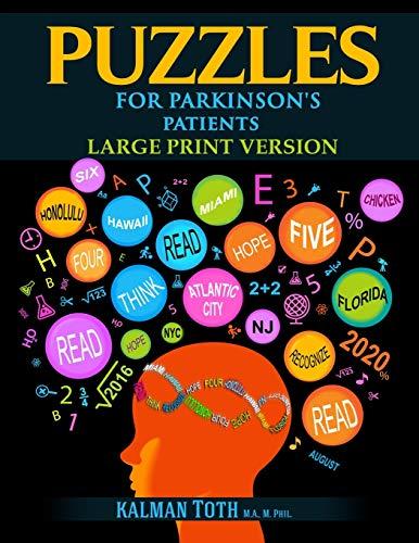 Puzzles for Parkinson's Patients: Large Print Version Paperback – January 11, 2020