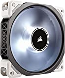 Corsair - CO-9050041-WWML120 - PRO Ventilateur de Boitier, 120mm, Premium Ventilateur à Lévitation Magnétique, Blanc LED...