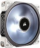 Corsair ML120 Pro LED, White, 120mm Premium Magnetic Levitation Cooling Fan (CO-9050041-WW)