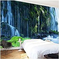 Xbwy 装飾壁画壁紙古典的な滝自然風景壁画ベッドルームリビングルーム-280X200Cm