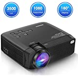 Pansonite Portable Projectors with 5200 Lux...