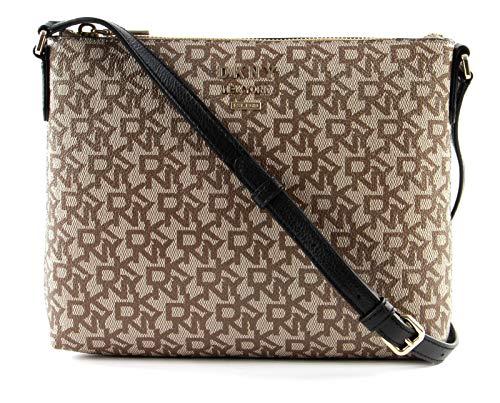 DKNY Whitney Flat Crossbody Bag Chino/Black