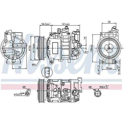Nissens 89415 Clima compressori