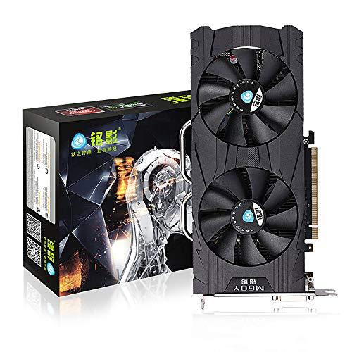 NVIDIA GeForce GTX 1060 3 GB DDR5 192 bits de alto rendimiento tarjeta gráfica para videojuegos, compatible con HDMI/DVI-D*2/DP/PCI-E, tarjeta gráfica con dos ventiladores de refrigeración