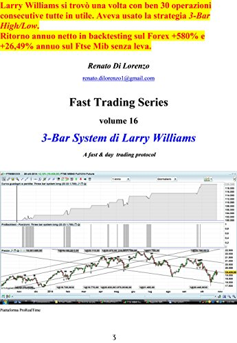 3-Bar System di Larry Williams: A fast & day trading protocol (Fast Trading Series Vol. 16) (Italian Edition)