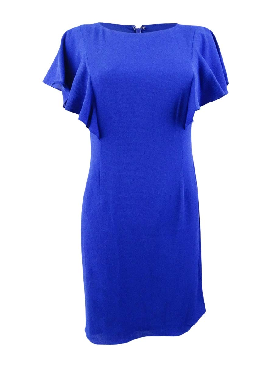 Available at Amazon: Jessica Howard Women's Petite Butterfly Sleeve Sheath Dress