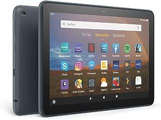 Fire HD 8 Plus Tablet, 8 Zoll HD Display, 32 GB, Schiefergrau, Ohne Werbung; unser bestes 8 Zoll Tablet für Unterhaltung unterwegs