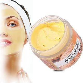 Gurkmeja Clay Face Mask, 50 ml Peel-Off Mask Brightening Nourishing Mud Mask Minska rynkor Hudvårdstillbehör lämpliga för ...