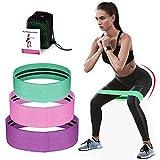 Phiraggit Fascia Elastica Fitness, (3 Pezzi) Fascia di Resistenza con 3 Livelli di Forza, Adatta per Home Fitness Yoga Pilates, con Custodia