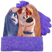 Secret Life of Pets Chloe and Max Kids Beanie Hat Glove Set