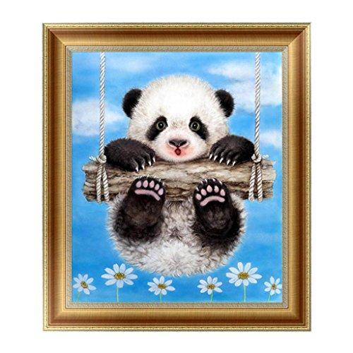ECMQS 5D Diamant Panda Peinture à La Broderie Point De Croix Art De Bricolage Craft Home Room Decor