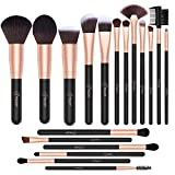 BESTOPE Makeup Brush Set 18 Pcs Professional Makeup Brushes with Soft Synthetic Fibers