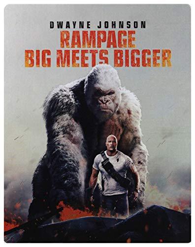 Rampage Steelbook [Blu-Ray]+[Blu-Ray 3D] [Region Free] (Audio italiano. Sottotitoli in italiano)