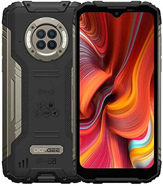 Smartphone rugged ir vision notturna doogee s96 pro, helio g90 8gb+128gb, fotocamera quattro 48mp (infrarossi B08MZP4JSG