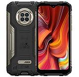 DOOGEE S96 Pro IR Visión Nocturna Smartphone Resistente, Helio G90 8GB+128GB, Cámara Cuatro 48MP (Infrarrojos 20MP), Móvil Antigolpes IP68 6.22'', Batería 6350mAh(Carga Inalámbrica) GPS NFC Negro