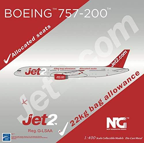 NG Model NGM53126 1:400 Jet2 757-200 Reg #G-LSAA (pre-Painted/pre-Built)