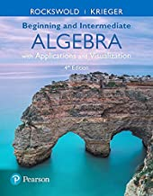 MyLab Math with Pearson eText -- Standalone Access Card -- for Beginning and Intermediate Algebra with Applications & Visualization with Integrated Review (4th Edition)