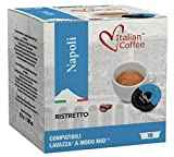 """Lavazza A Modo Mio Compatible Capsules, Italian Coffee pods (""""Napoli"""" Ristretto Blend, 128 Pods)"""