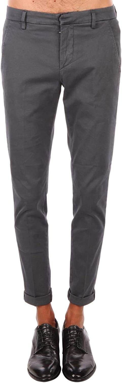 DONDUP Men's UP235GS784U997 Grey Cotton Pants