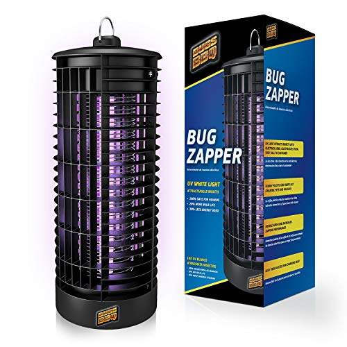 Crio Bug Zapper Indoor and Outdoor - Insects Killer - Fly Trap Outdoor Patio - Insect Killer Zapper - Mosquito Trap - Insect Zapper - Mosquito Attractant Trap - Fly Zapper - Bug Zapper Table Top (XL)