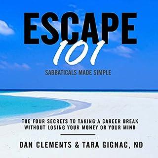 Escape 101 audiobook cover art