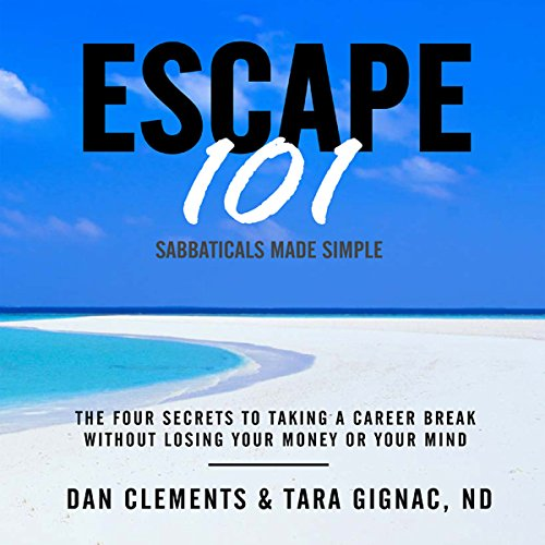 Escape 101 audiobook cover art