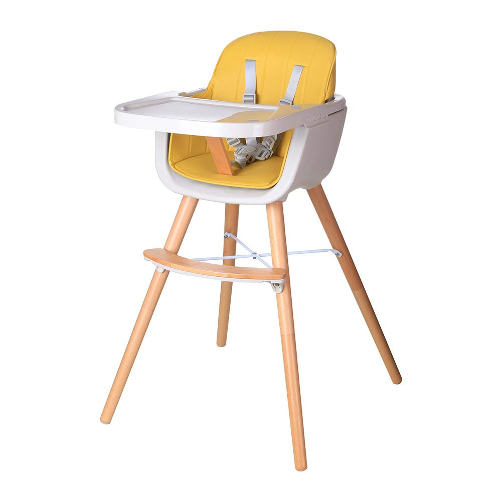 Foho Baby High Chair Industry No. 1 Nippon regular agency Perfect 3 Convertible Cha Wooden in