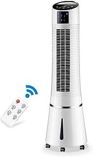 WDX- Ventilador de refrigeración silencioso Ahorro de energía Ventilador de Aire refrigerado por Agua pequeño acondicionador de Aire Frio (Color : White)