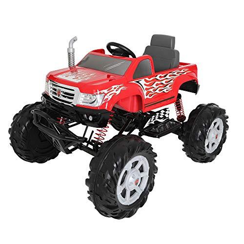 ROLLPLAY Elektro-Quad, Für Kinder ab 3 Jahren, Bis max. 35 kg, 12-Volt-Akku, Bis zu 5 km/h, Powersport ATV, Schwarz