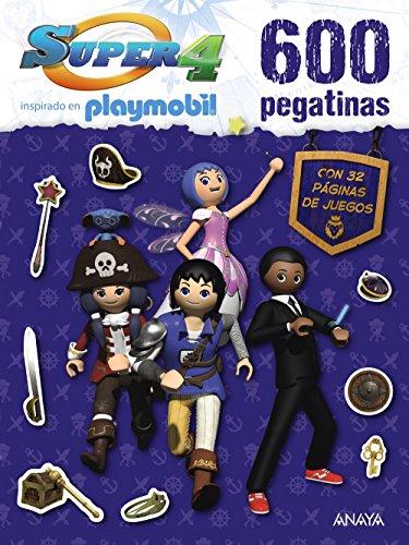 Super 4  - 600 pegatinas (Literatura Infantil (6-11 Años) - Super 4)