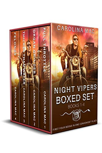 Night Vipers Box Set - Books 1 to 4 (English Edition)