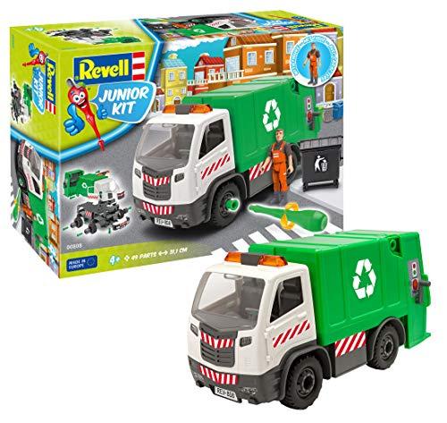 Revell 808 Garbage Truck Modellbausatz, Bunt