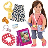 Our Generation Doll by Battat- Reese 'and The Curious Castle' Deluxe 18' Posable Travelling Fashion Doll- For Ages 3 & Up