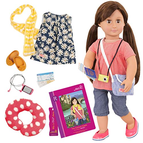 Our Generation : Reese Doll with Book (18 inch 46Cms)