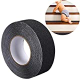 <span class='highlight'><span class='highlight'>Toomett</span></span> Anti Slip Tape, High Traction, Not Easy Leaving Adhesive Residue, Best Grip, Friction, Abrasive Adhesive for Stairs, Safety, Tread Step, Indoor, Outdoor,(5cm x15m)