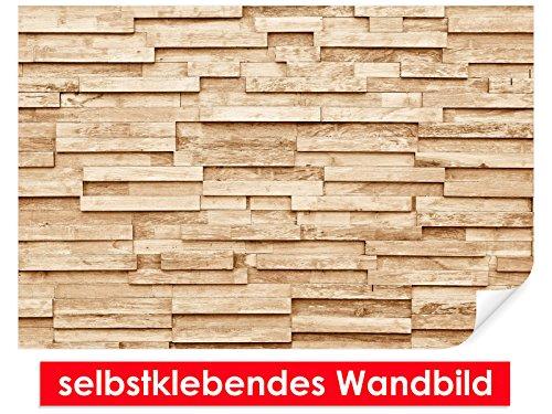 Trendmuren XXL-behang zelfklevende muurschildering Wood Plank – gemakkelijk te plakken – muurprint, wallpaper, posters, vinylfolie met puntlijm voor muren, deuren, meubels en alle gladde oppervlakken van trendy muren 90x60cm