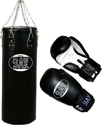 BAY® 130x35 cm Boxset Sandsack+Boxhandschuhe
