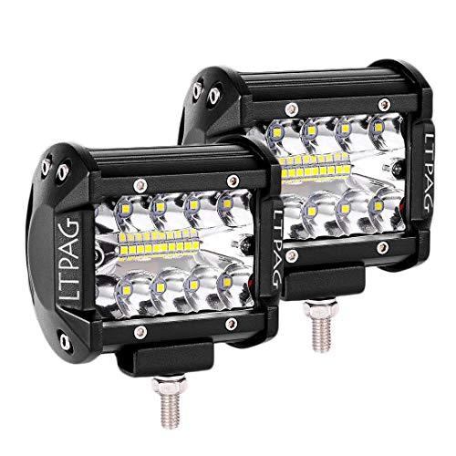 YGL 2pcs Universal Montaje de Barra de Luz de Trabajo LED Soporte para Cami/ón//Barco//Autob/ús//ATV//SUV