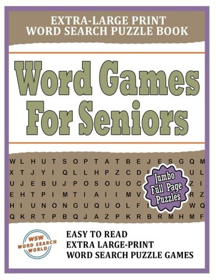 フルーティー差活性化するWord Games For Seniors: Extra-Large Print Word Search Puzzle Book: Easy To Read Extra-Large Print Word Search Puzzle Games